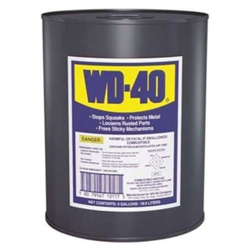 WD-40 5 Gallon WD-40 Lubricant Open Stock Can
