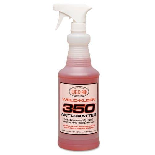 Weld-Aid 1 Gallon Red Liquid Weld-Kleen 350 Anti-Spatter