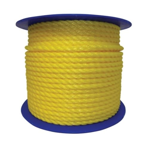 Orion .87-in X 600-ft Monofilament Poly Rope, Yellow