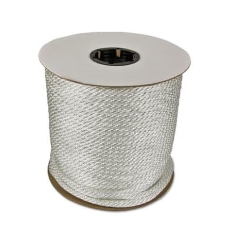 500-ft Braided Nylon Rope, .375-in Diameter, 2475 lb Load Capacity, White