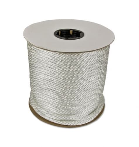 250-ft Braided Nylon Rope, .5-in Diameter, 3960 lb Load Capacity, White