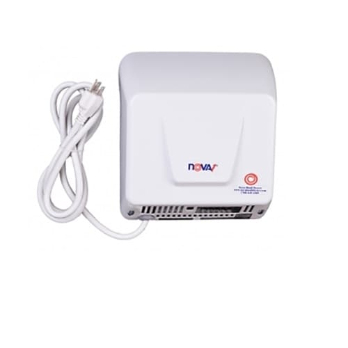 1000W Plug-in Hand Dryer. Nova 1 Series, 120V