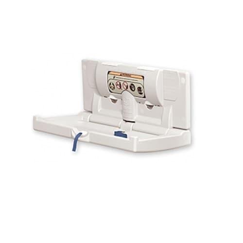 World Dryer DryBaby Horizontal Changing Station, Polyethylene