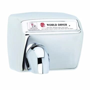 2300W Automatic Model XA Hand Dryer, 115V, Stainless Steel, Polished