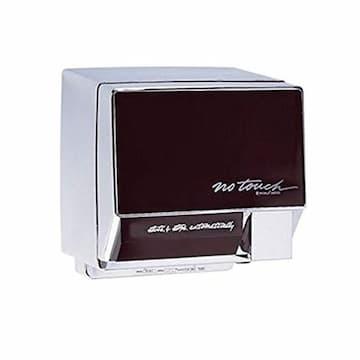 2000W Automatic NoTouch Hand Dryer w/Ebony Front Panel, 208V-240V, Aluminum, White Body