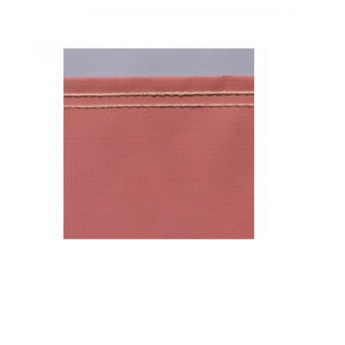 60-in X 50-yd Weld-O-Glass Welding Curtain, Red
