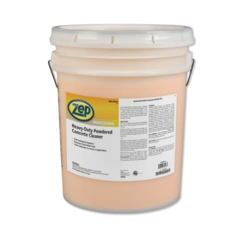 Zep Powdered Concrete Cleaners, Heavy-Duty