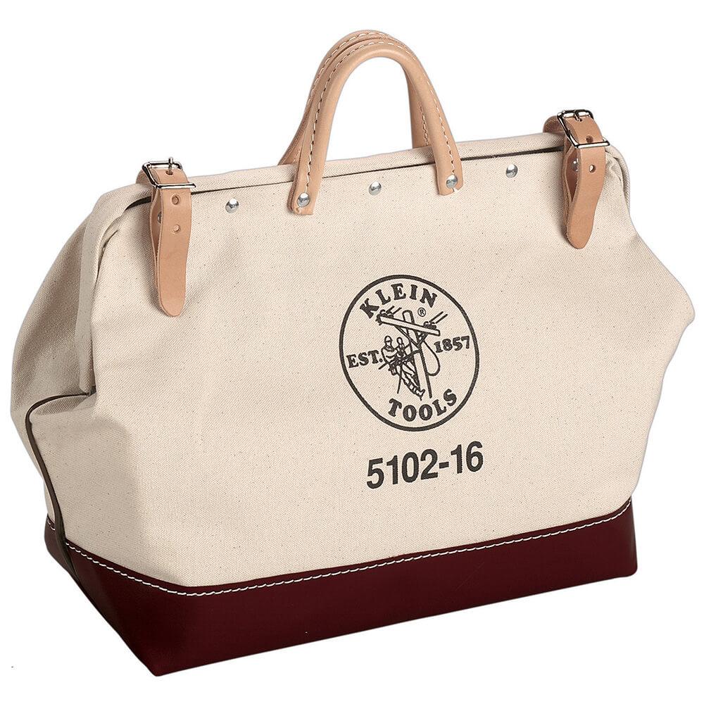 Klein 22 Canvas Tool Bag Klein 5102 22 Homelectrical Com