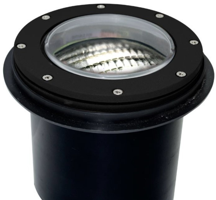 Led Light Fixture Keeps Going Out: Dabmar Lighting 4W LED In-Ground Well Light Fixture, PAR36