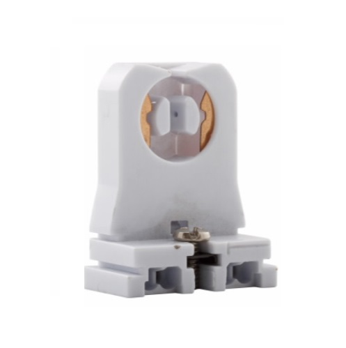 Eaton Medium Bi Pin Linear Fixture Socket White Eaton