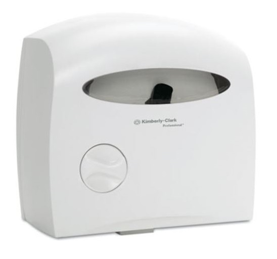 White Electronic Touchless Coreless Jrt Tissue Dispenser
