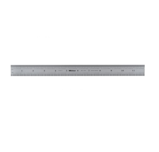 300mm X 12 Flexible Chrome Stainless Steel Ruler 182 125 Homelectrical Com