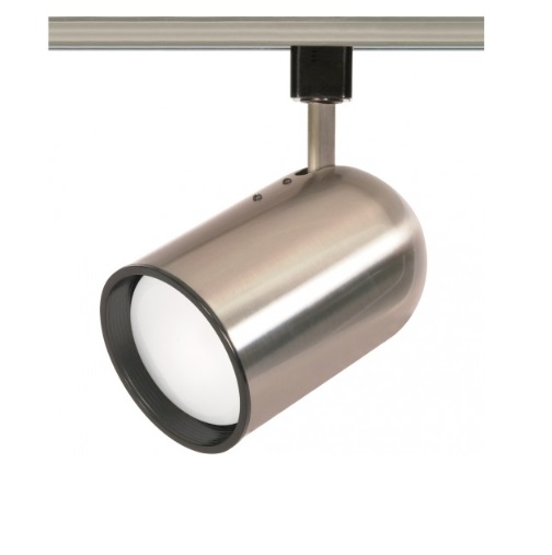 Nuvo 75w Track Light R30 Bullet Cylinder 1 Light Brushed Nickel Nuvo Th306 Homelectrical Com