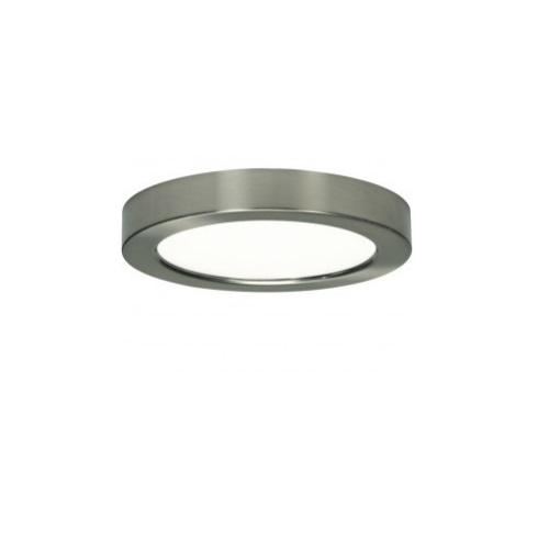 """New 7 Round Led Flush Mount Ceiling Light 4000k Kitchen: SATCO Blink 13.5W 7"""" Round LED Flush Mount, 2700K, 800"""