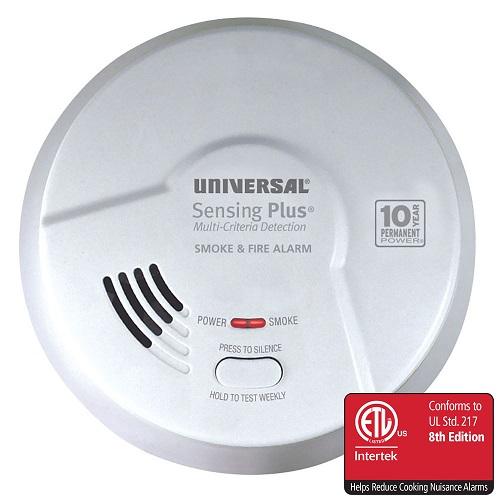 USI Electric AMI Series Smoke and Fire Alarm