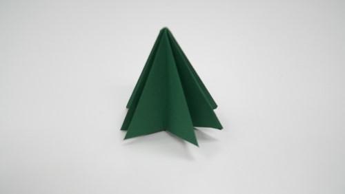 Origami 3D tree