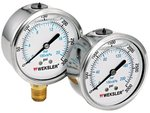 2 [1/2]'' 0/100 PSI Liquid Filled Gauges w/Stainless Steel Case
