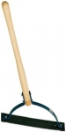 Serrated Deluxe Weed Cutter with White Ash Handle
