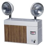 Emergency Light with Integrated Solid State System and 25 Watt Battery