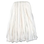 Nonwoven Cut End Edge Mop, Rayon/Polyester, 20 oz, White