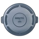 Vented Brute 44 Gallon Trash Can Lid, Grey