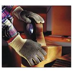 Multi-Knit Dotted Lightweight Gloves, Large
