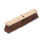 Floor Brush Head, 3 1/4 Natural Palmyra Fiber
