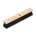 Floor Brush Head , 2 1/2 Black Tampico Fiber