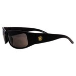 Elite Safety Eyewear, Black Frame, Smoke Anti-Fog Lens