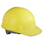 SC-6 Head Protection With Four-Point Suspension, Yellow, Hard Hats
