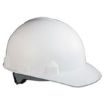 SC-6 Head Protection With Four-Point Suspension, White, Hard Hats