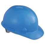 SC-6 Head Protection With Four-Point Suspension, Blue, Hard Hats