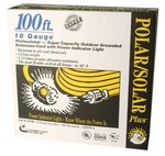 100-ft Yellow Polar/Solar Extension Cord 10/3 SJEOW