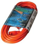 Vinyl Orange Extension Cord 25 ft