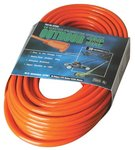 Vinyl Orange Extension cord 100-ft