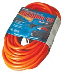 Vinyl Red Extension Cord 50-ft 300V