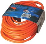 100-ft Orange Extension Cord