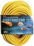 100-ft Yellow Extension Cord