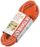 25 -ft weather resistant Extension Outlet