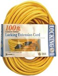 100-ft twist Lock Extension Cable 12/3 SJTW