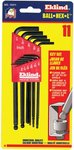 11 Piece Ball Hex Key L Key Set