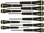 10 Piece Slotted 1-mm Screwdriver Set