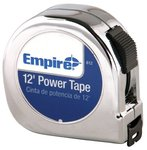 "5/8""X12' High Carbon Steel Power Tape w/ Black Case"