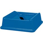 Commercial Untouchable Slotted Recycling Top