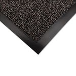 Cross-Over Indoor/Outdoor Wiper/Scraper Mat, 48 x 72, Brown