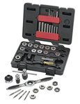 40 Piece Carbon Steel Tap and Die Set with Blow Molded Case