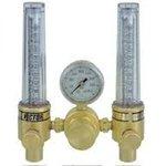 CGA 580 Argon, Helium DFM Dual Flowmeter Regulator