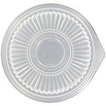 Smart-Set Clear Pro Round Container Lids for 24/32 oz. Containers