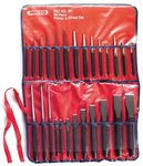 26 Piece Alloy Steel Punch & Chisel Set