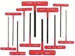 11 Piece Black Oxide T-Handle Hex Key Set